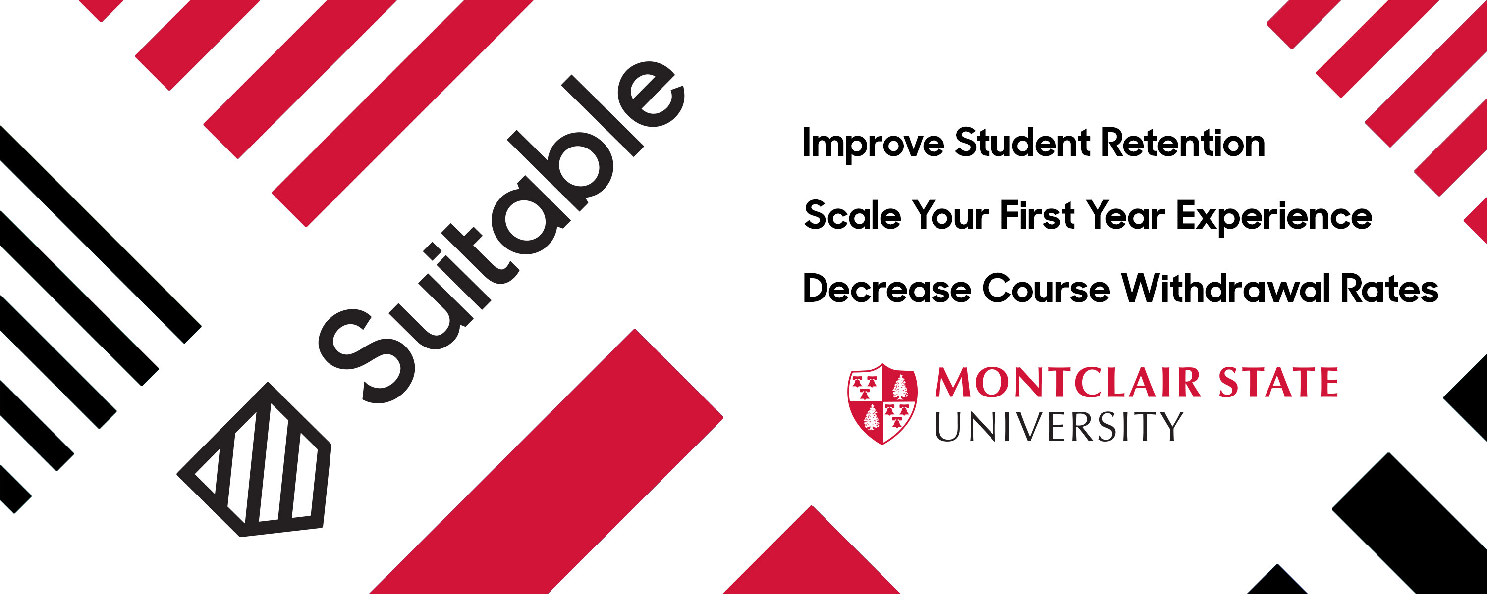 How Montclair State Improved Student Retention with Suitable