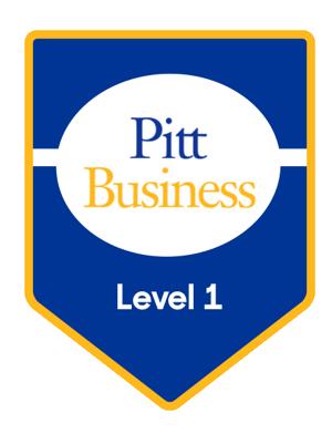 Pitt Badge 1
